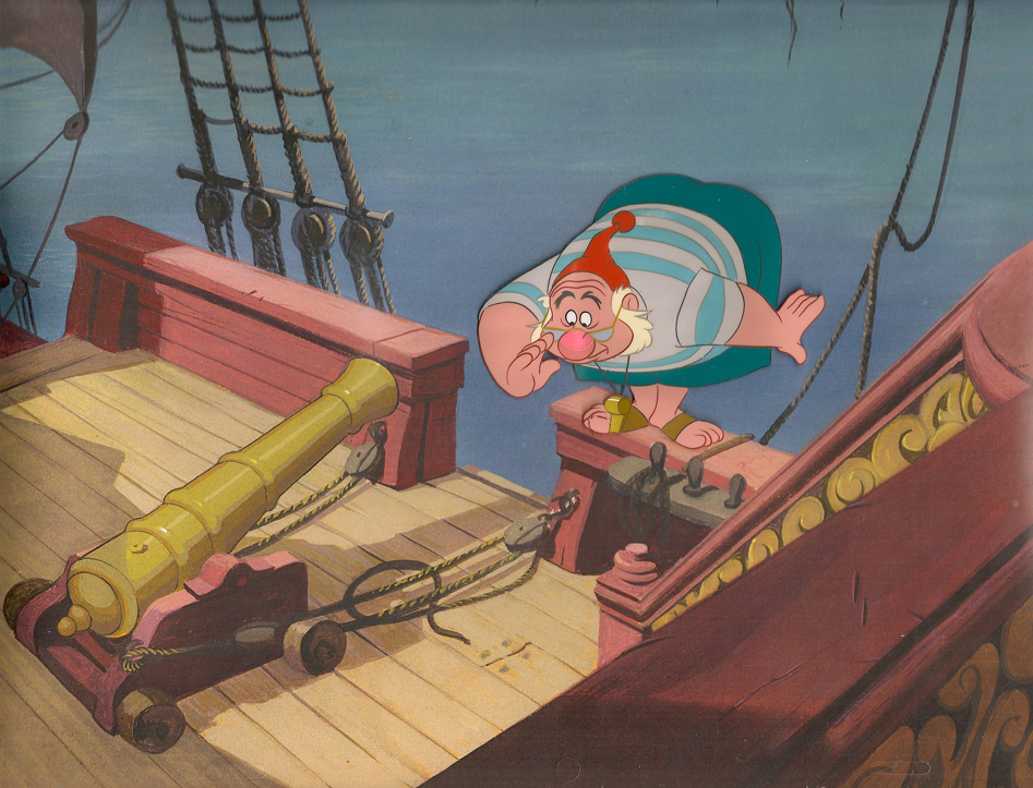 Animation Cel of Mr. Smee